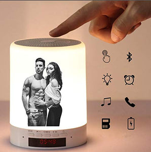 Personalized Photo Night Light - Bluetooth Music Player