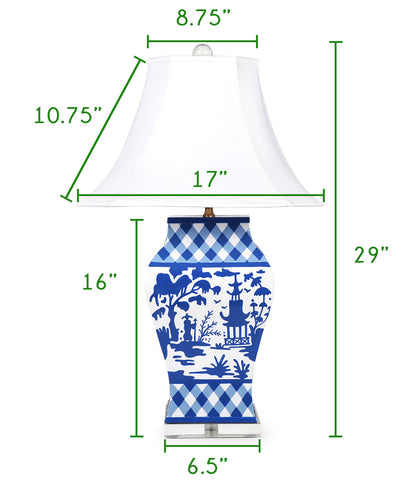 Grantham Lamp Size Guide