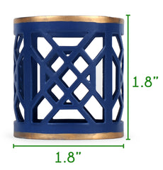 Don't Fret Napkin Ring Size Guide
