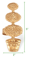 Topiary Napkin Ring Size Guide
