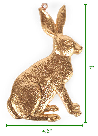 Rabbit Ornament Size guide
