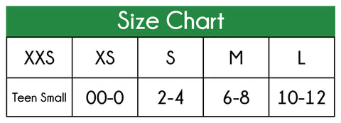 Boxers Size Chart
