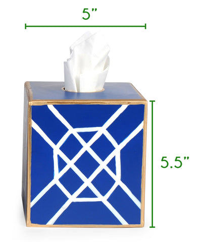 Julianne Taylor Tissue Box Cover Size Chart