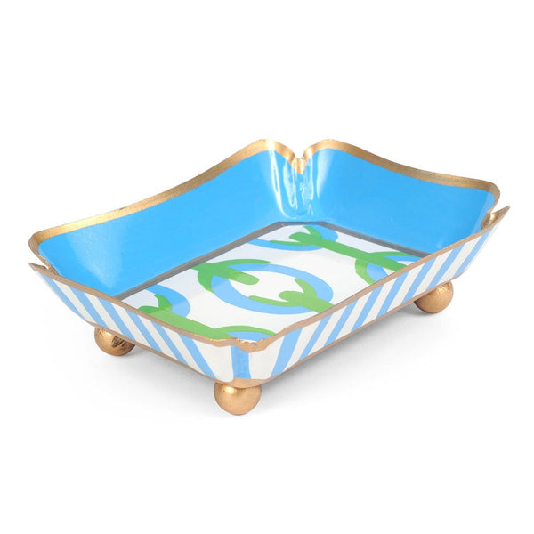 Chain Green Trinket Tray