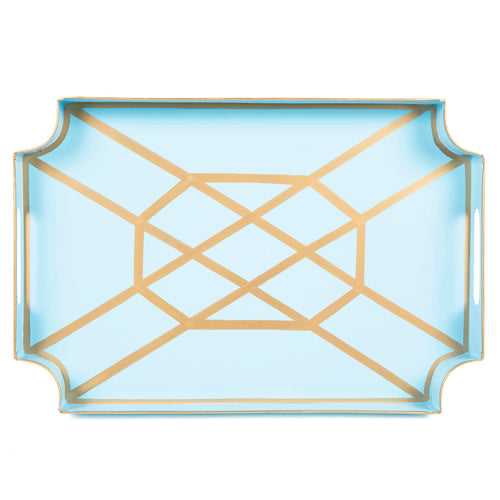 Don't Fret Light Blue Jaye Tray