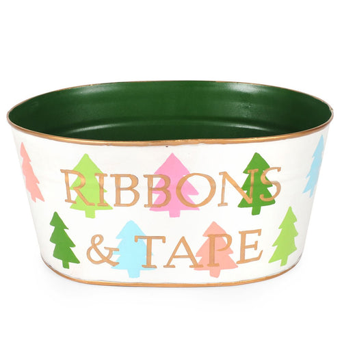 Colorful Trees Multi Color Ribbons And Tape Tub