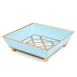 Don't Fret Light Blue Cocktail Napkin Tray
