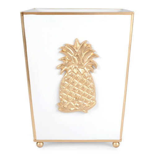 Regency Pineapple Wastebasket