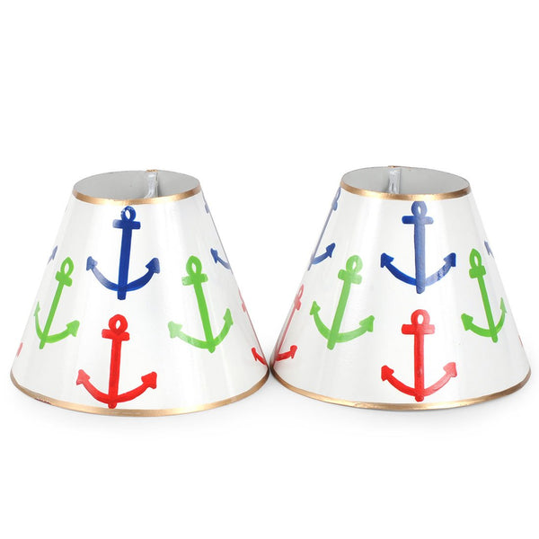 "Anchors Set of Two 4"" Shades"