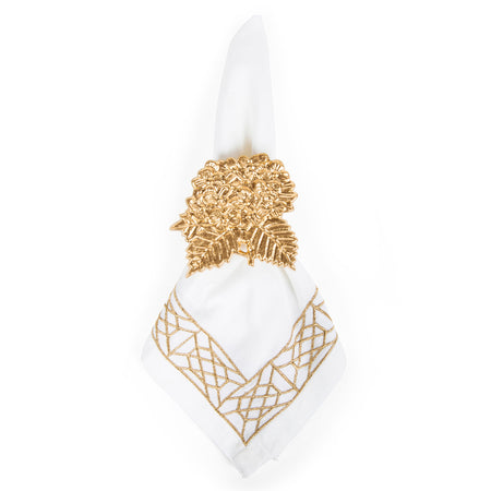 Garden Party Enamel Egg Napkin Ring