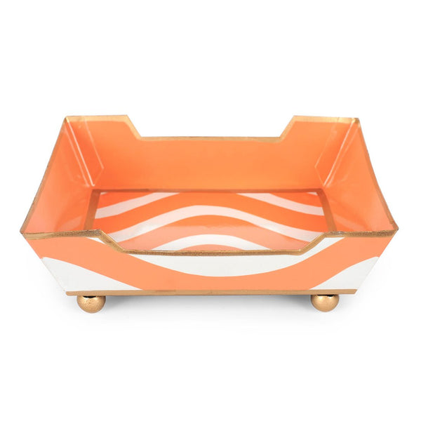 Breakers Orange Cocktail Napkin Tray