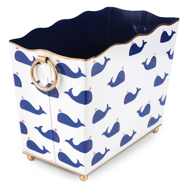 Whales Rectangle Magazine Holder