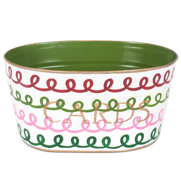 "Squiggle Multi Color ""CARDS"" Tub"