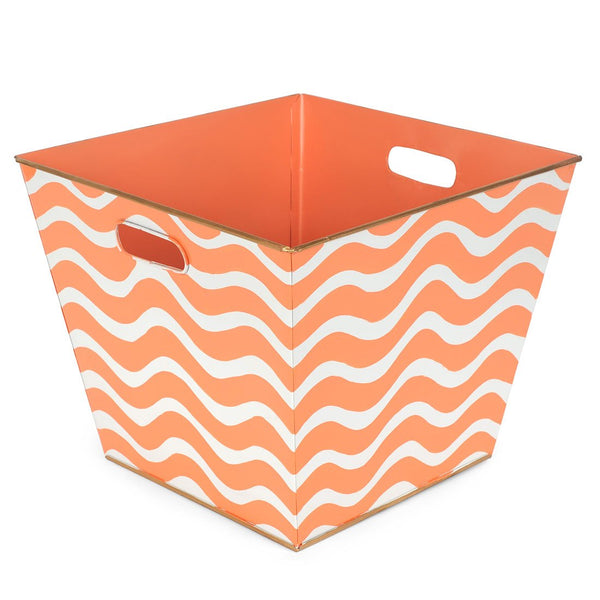 Breakers Orange Storage Bin