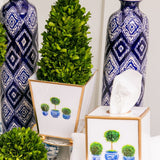 Topiary Trees Enamel 6