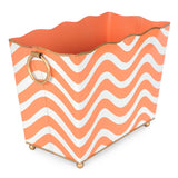 Breakers Orange Rectangle Magazine Holder
