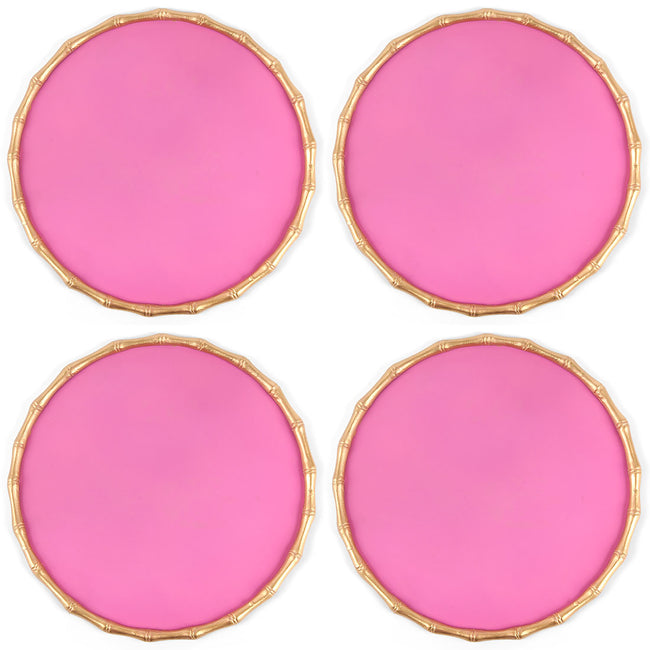 Bamboo Chargette Pink (4pk)