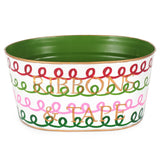 Holiday Squiggle Multi Color Ribbons and Tape Tub