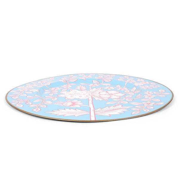 "Floral Toile 14"" Charger Plate 4-Pack"
