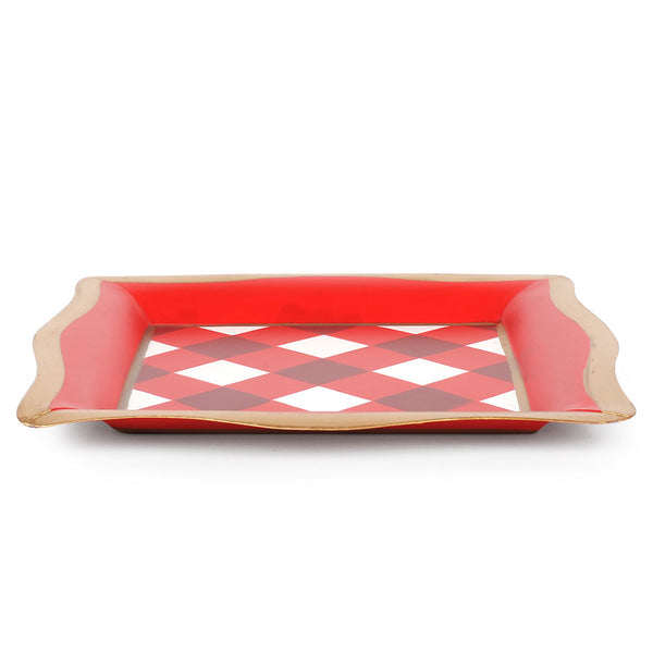 Buffalo Plaid Social Tray