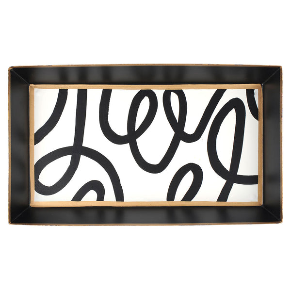 Scribbles Guest Towel Tray