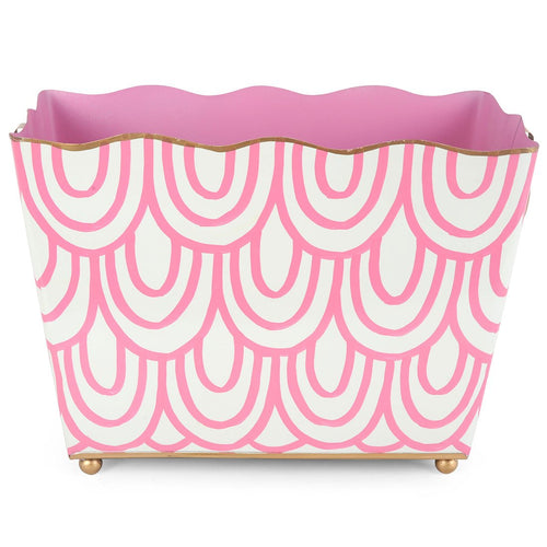Scales Pink Rectangle Magazine Holder