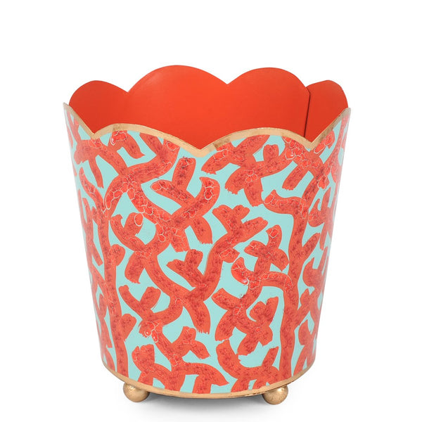 "Coral 4"" Decorative Cachepot"