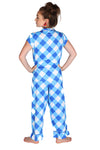 Buffalo Blue Sateen Capri Pajama Set