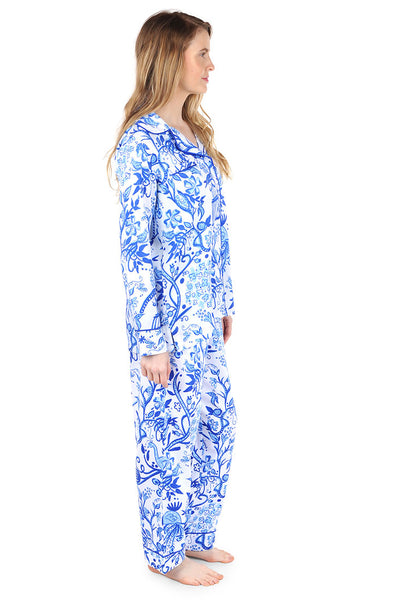 Birds of a Feather Sateen Full Pajama Set