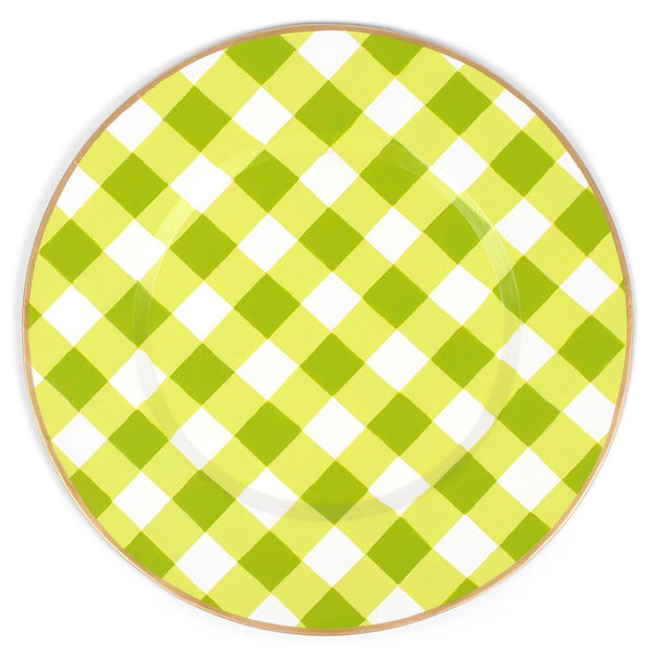 Gingham Charger Set (4pk)