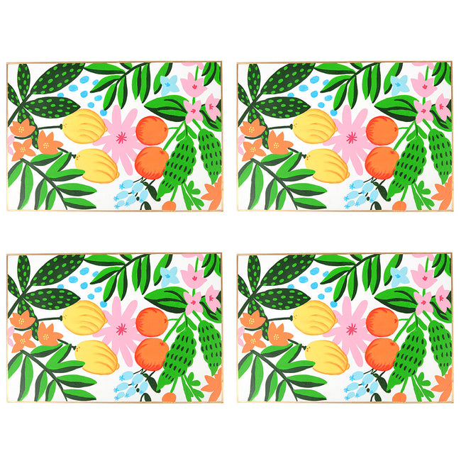 Floral Fruit Placemat (4pk)