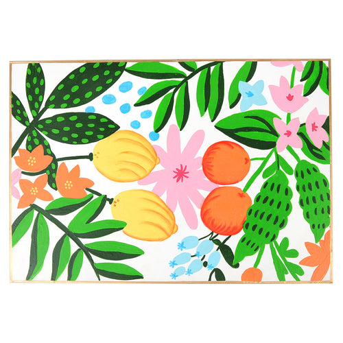 Fruit Floral Placemat (4pk)