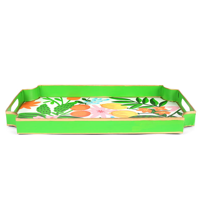 Fruit Floral Jaye Tray