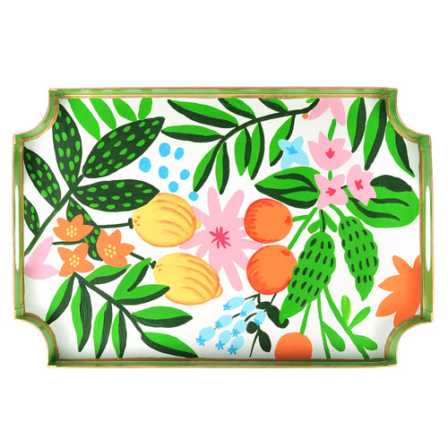 Floral Fruit Jaye Tray