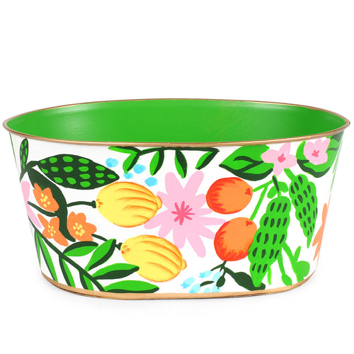 Floral Fruit Tub