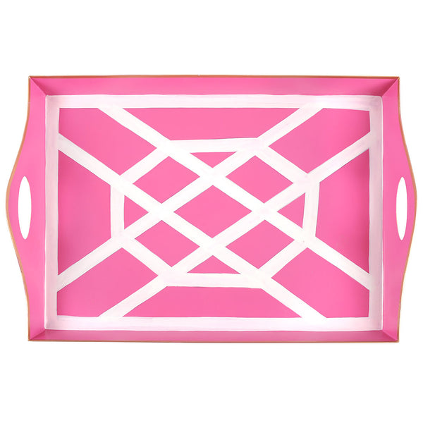 Don't Fret Pink Bentley Tray