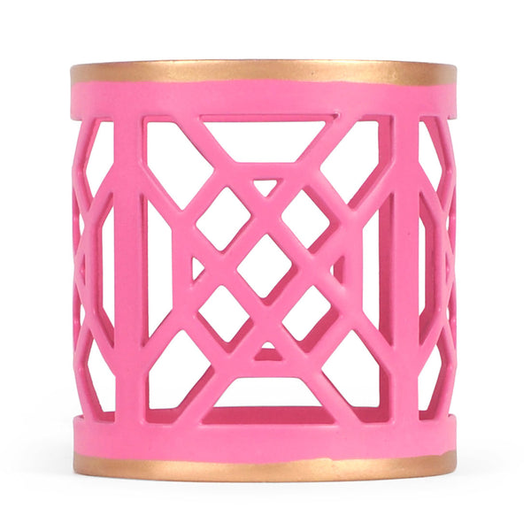 Don't Fret Pink Napkin Ring (12 pack)