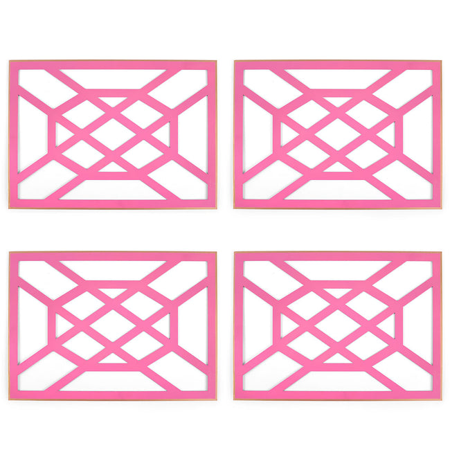 Don't Fret Pink Placemat (4pk)