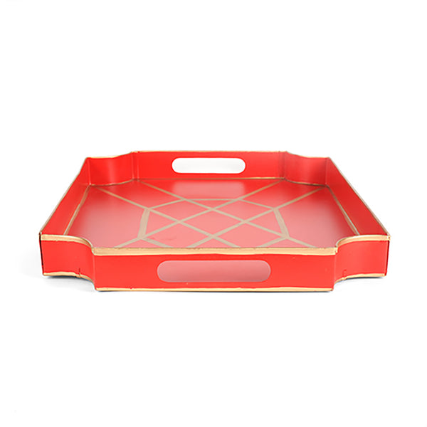 Don't Fret Red Jaye Tray
