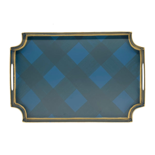 Sussex Plaid Jaye Tray