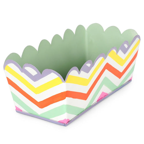 Capri Chevron Multi Color Pink Catch-All