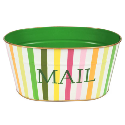 "Bayshore Multi Color ""MAIL"" Tub"