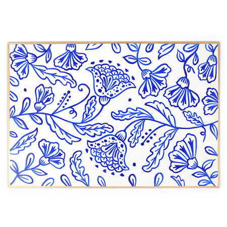 Garden Party Enameled Charger Set (4pk)