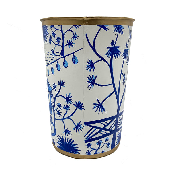 Garden Party Oval Wastebasket