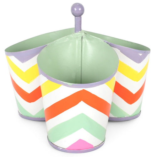 Capri Chevron Multi Color Caddy