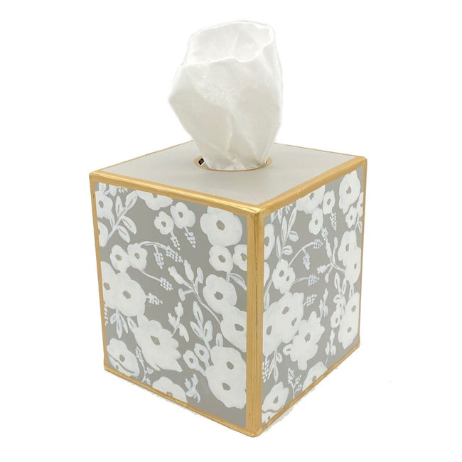 Flower Fields Tissue Box Cover