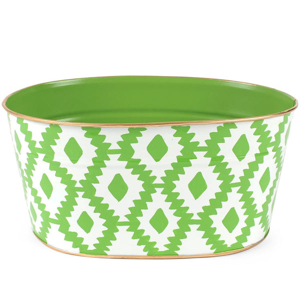 "Aztec Green ""Cards"" Tub"