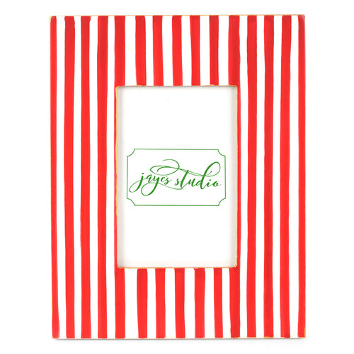 Candy Cane Stripe Photo Frame