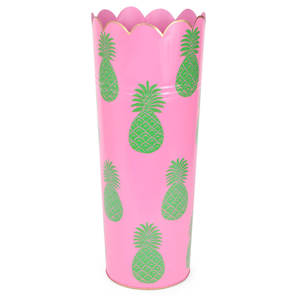 Pineapple Pink Umbrella Stand