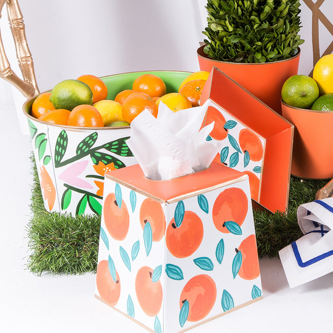 Oranges Tissue Box Cover